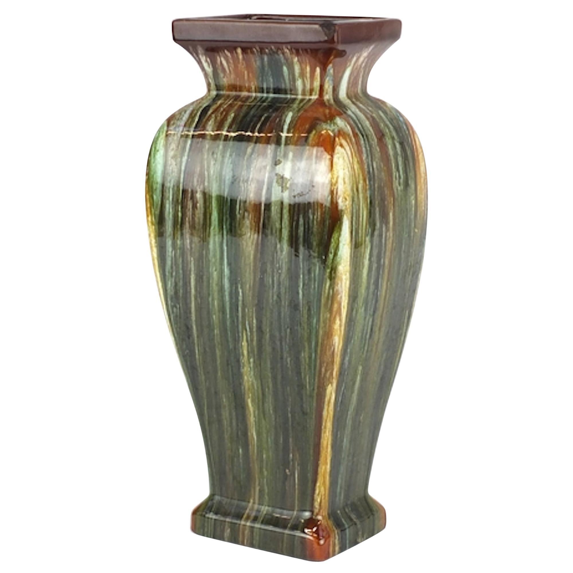 Art Nouveau Bretby Vase, Early 20th Century