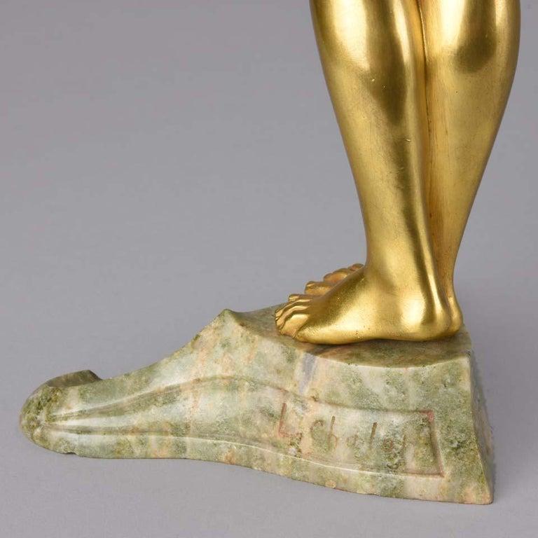 Art Nouveau Bronze 'La Femme Nue' by Louis Chalon For Sale 3