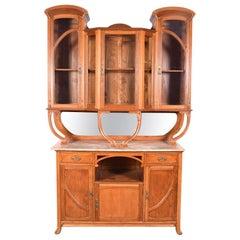 Art Nouveau Cabinet in Oak