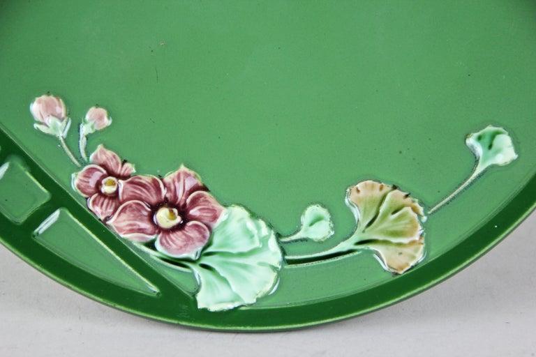 Art Nouveau Centerpiece Ceramic by Eichwald, Bohemia, circa 1910 For Sale 1