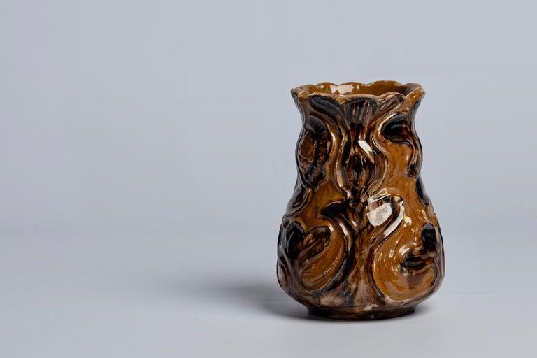 Art Nouveau Ceramics by Danish Møller & Bøgely, 1910s For Sale 7
