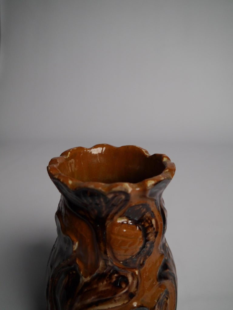 Art Nouveau Ceramics by Danish Møller & Bøgely, 1910s For Sale 8
