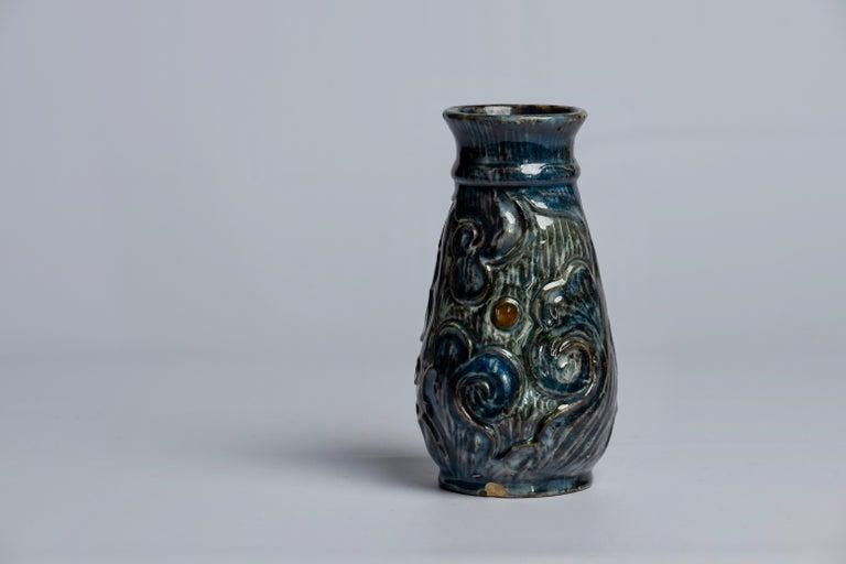 Art Nouveau Ceramics by Danish Møller & Bøgely, 1910s For Sale 3