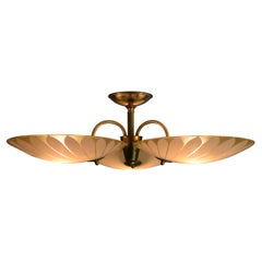 Art Nouveau Chandelier in the Style of Carl Axel-Acking