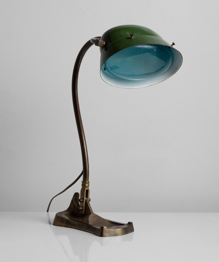20th Century Art Nouveau Desk Lamp