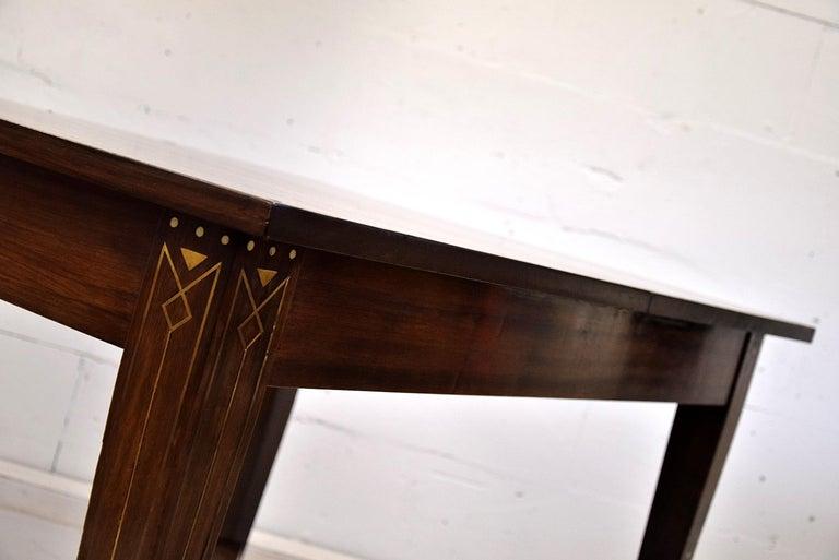 Sophisticated mahogany Art Nouveau,