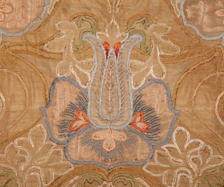 English Art Nouveau European Textile, 1900s For Sale