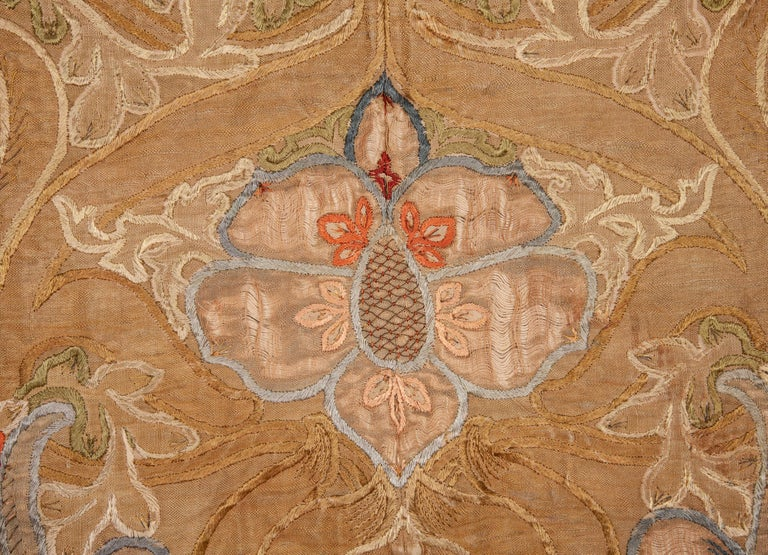 Art Nouveau European Textile, 1900s In Fair Condition For Sale In Istanbul, TR