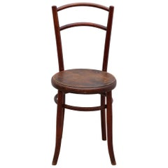 "Art Nouveau ""Fischel"" Bentwood Side Chair"