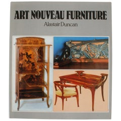 Art Nouveau Furniture by Alastair Duncan, Stated First Edition