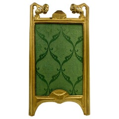 Art Nouveau Gilt Bronze Photograph Frame, circa 1910