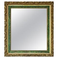 Art Nouveau Gilt Overmantle or Wall Mirror