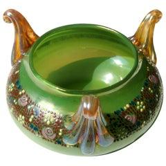 Art Nouveau Bohemian Loetz Aus 129 Glass Vase