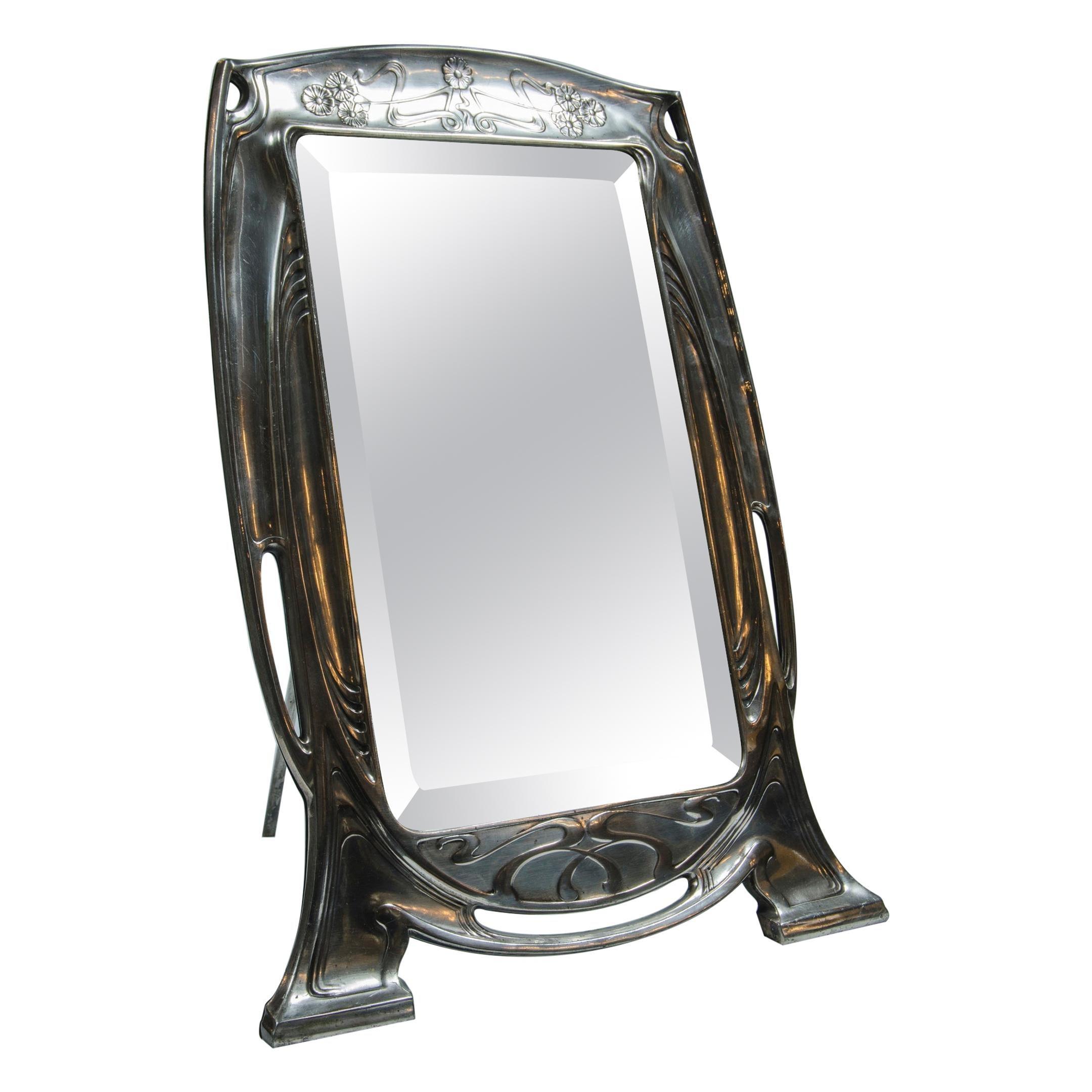 Art Nouveau Mirror Argentor