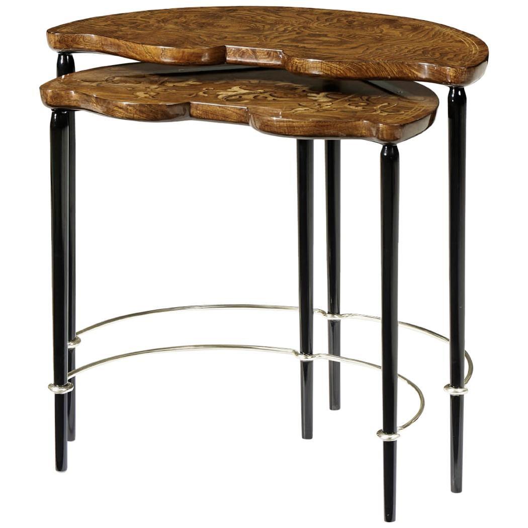 Art Nouveau Style Nesting Tables