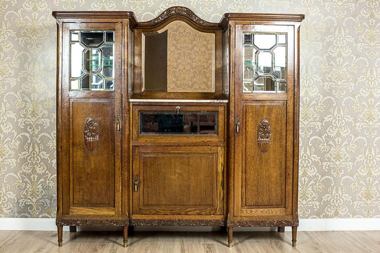 oak dining room suites   Art Nouveau Oak Dining Room Suite, circa 1910 For Sale at ...