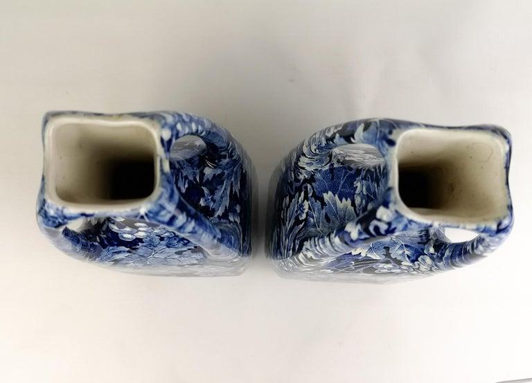 Art Nouveau Pair of Vases Druva Rörstrand Sweden For Sale 1