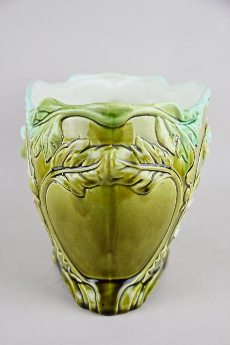 Art Nouveau Planter or Jardinière Floral, France, circa 1910 In Good Condition For Sale In Linz , AT
