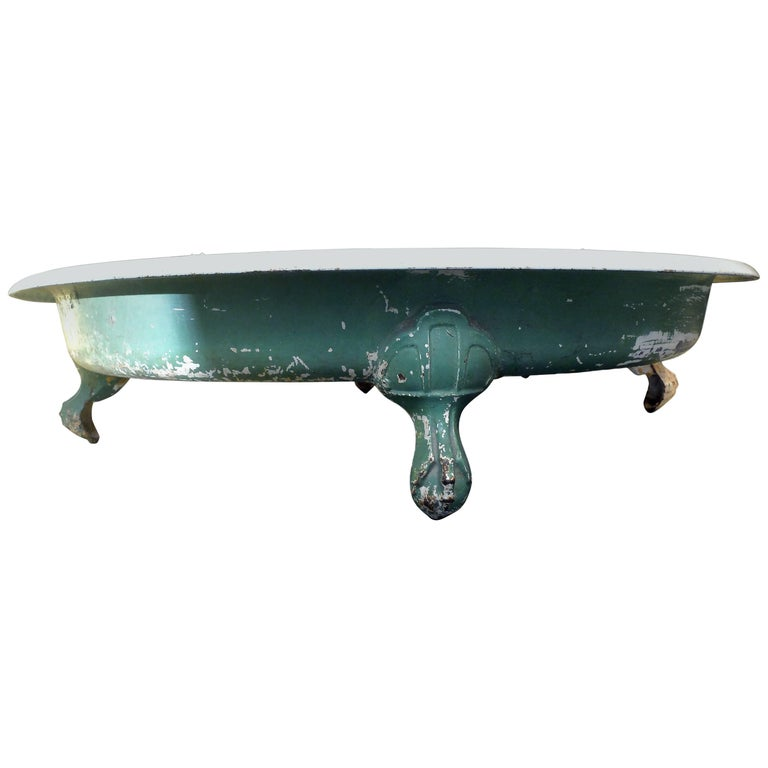 Art Nouveau Shower Dish, Cast Iron, France, circa 1900 For Sale