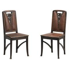 Art Nouveau Side Chair