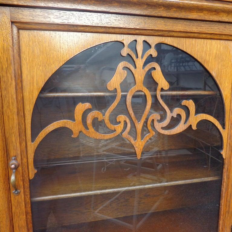 Art Nouveau Sideboard by Limbert Van Raalte Craftsman Furniture For Sale 4