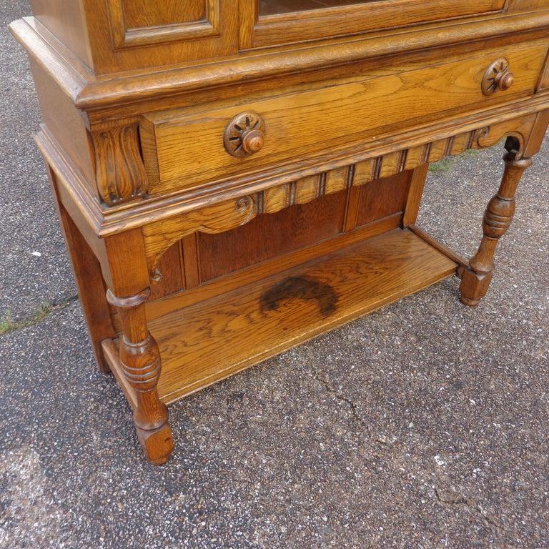 Art Nouveau Sideboard by Limbert Van Raalte Craftsman Furniture For Sale 5