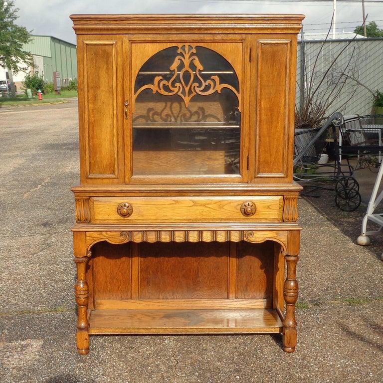 American Art Nouveau Sideboard by Limbert Van Raalte Craftsman Furniture For Sale