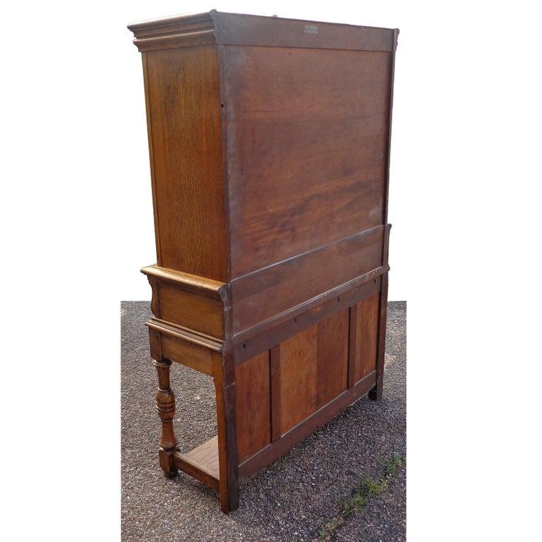 Art Nouveau Sideboard by Limbert Van Raalte Craftsman Furniture In Good Condition For Sale In Pasadena, TX