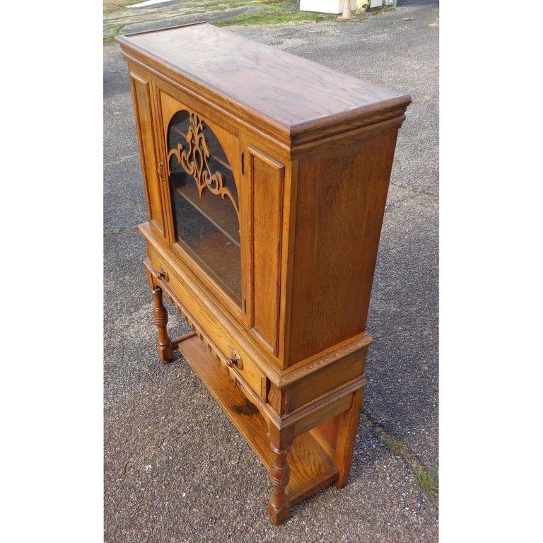 Early 20th Century Art Nouveau Sideboard by Limbert Van Raalte Craftsman Furniture For Sale