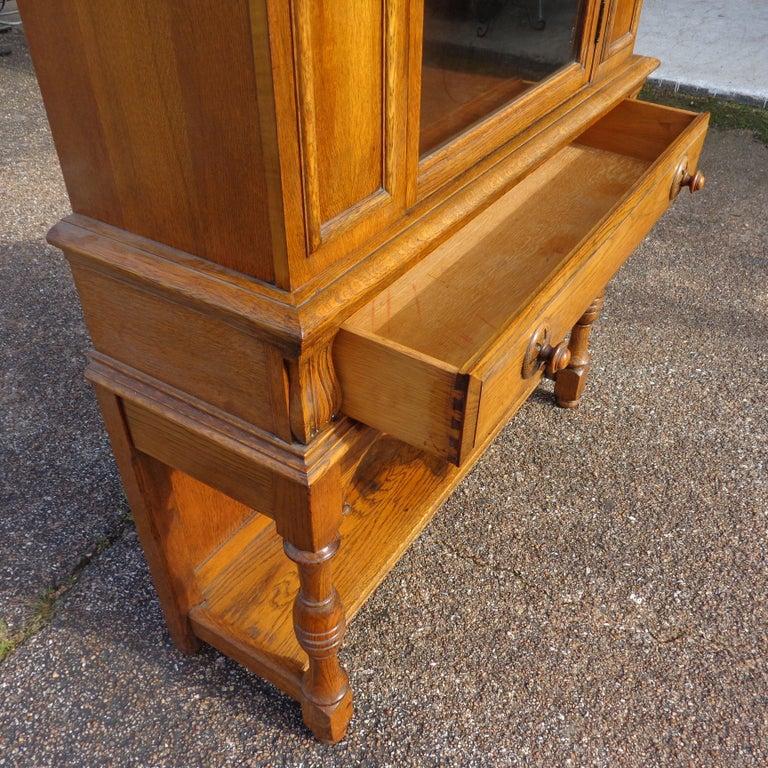 Walnut Art Nouveau Sideboard by Limbert Van Raalte Craftsman Furniture For Sale