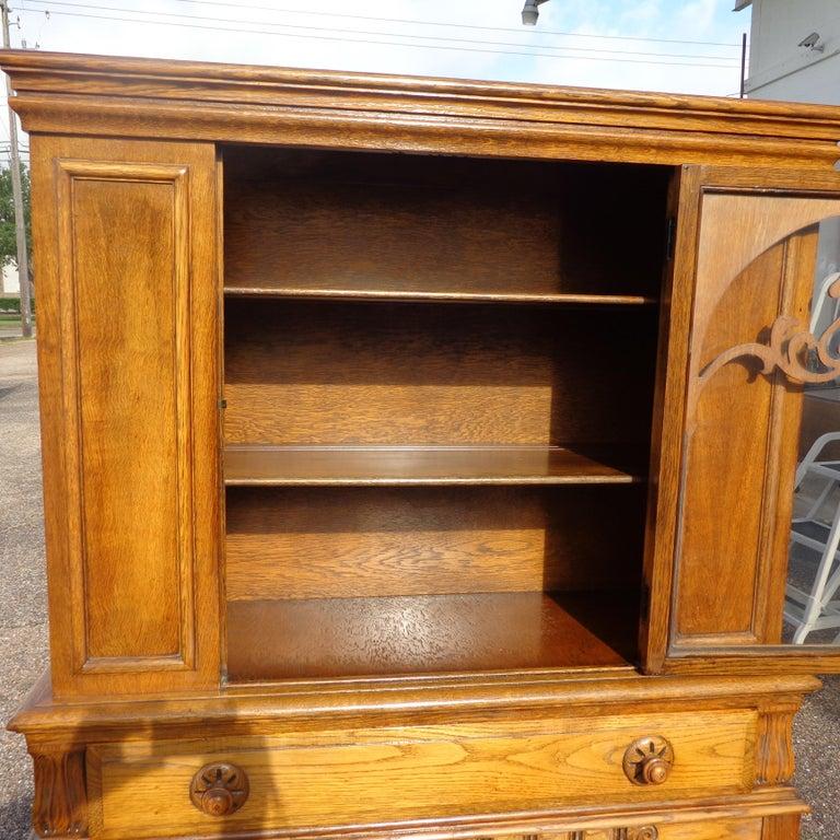Art Nouveau Sideboard by Limbert Van Raalte Craftsman Furniture For Sale 2