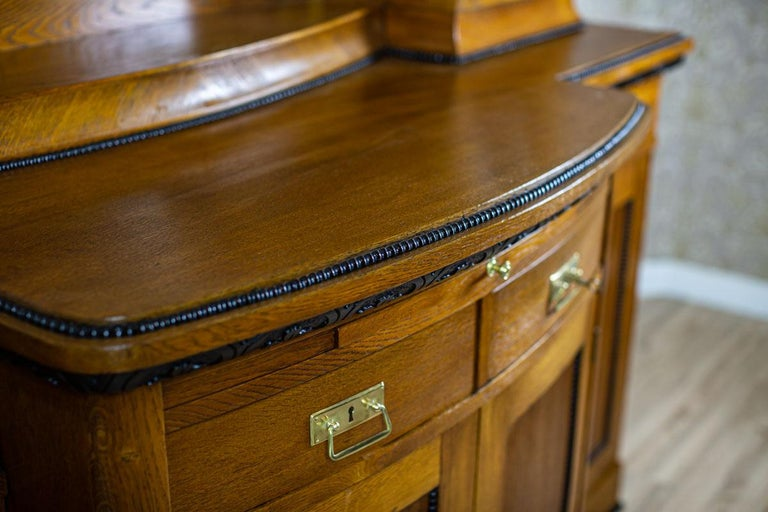 Art Nouveau Sideboard from the Turn of the 19th and 20th Century For Sale 6