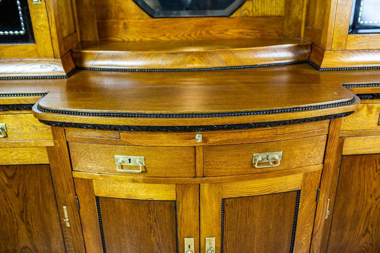 European Art Nouveau Sideboard from the Turn of the 19th and 20th Century For Sale