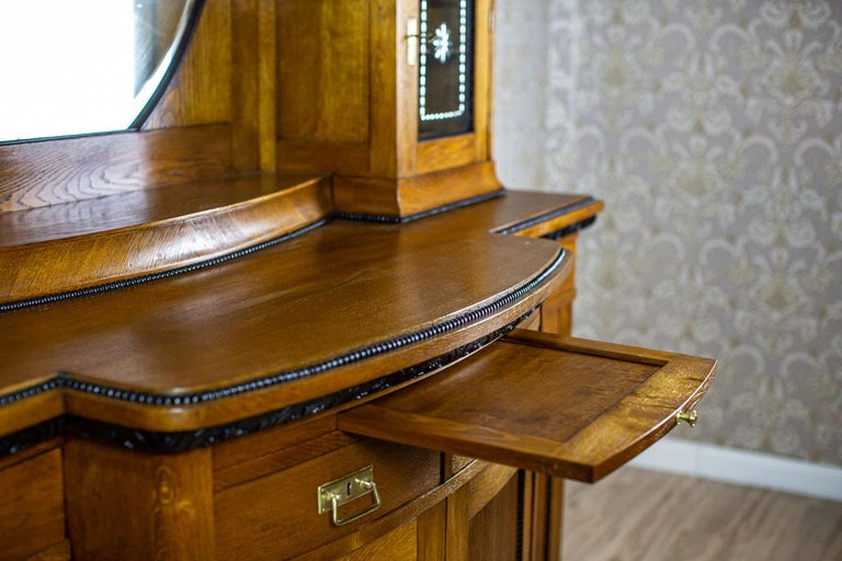 Art Nouveau Sideboard from the Turn of the 19th and 20th Century For Sale 1