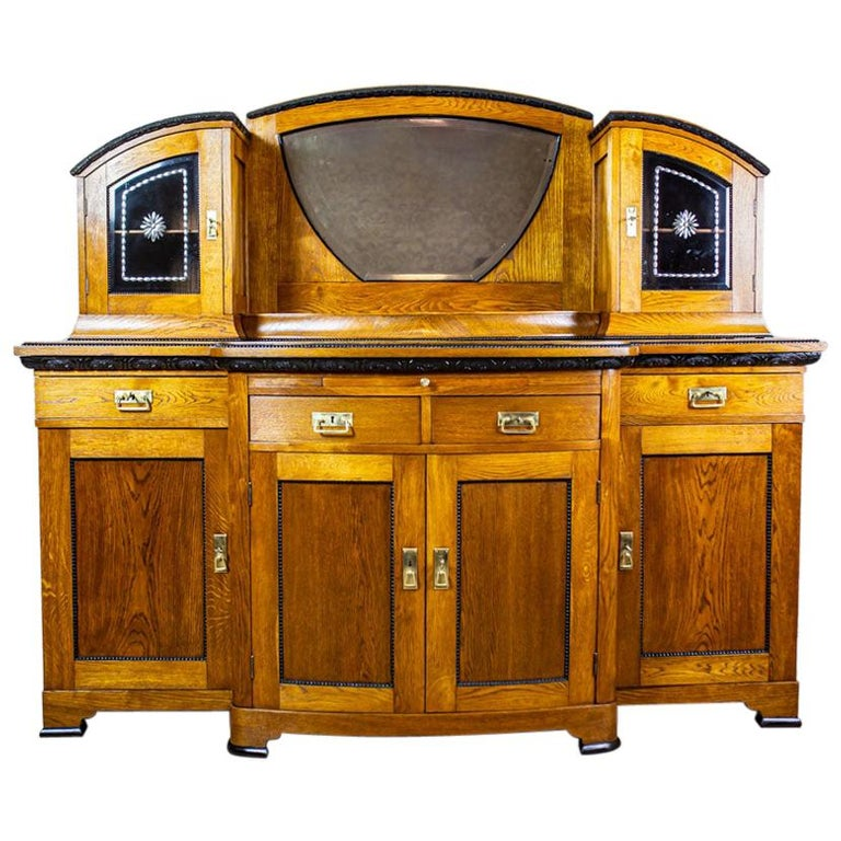 Art Nouveau Sideboard from the Turn of the 19th and 20th Century For Sale