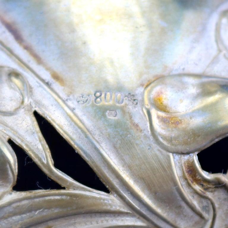 Early 20th Century Art Nouveau Silver Centrepiece, circa 1900 For Sale