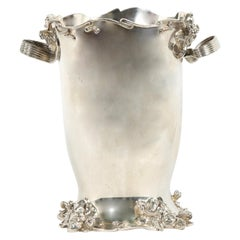 Art Nouveau Silver Plated Cooler / Ice Bucket