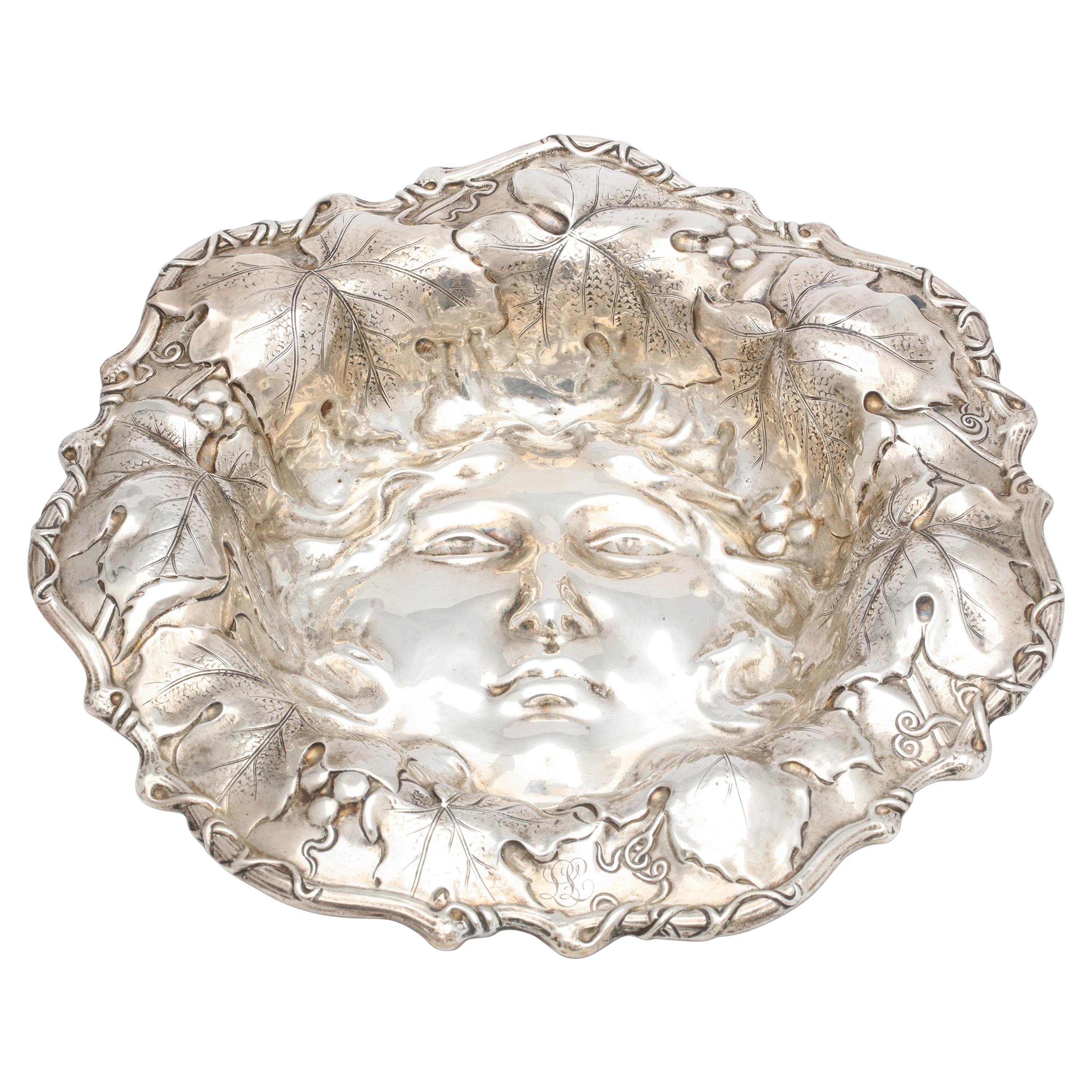 Art Nouveau Sterling Silver Bowl by Whiting Mfg. Co