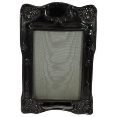 Art Nouveau Sterling Silver Picture Frame by Dominick & Haff