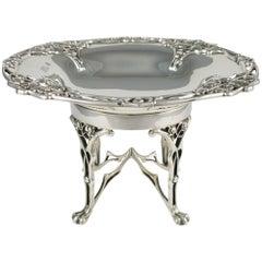 Art Nouveau Sterling Silver Tazza, William Hutton & Sons, 1906