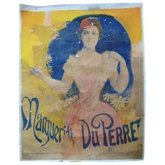 Art Nouveau Style Lithographie, G.Bataille, 18-20 rue de Chabrol, Paris
