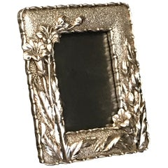Art Nouveau Style Silver Plated Frame