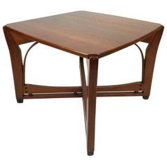 Art Nouveau Style Wooden Coffee Table by Schuitema & Zonen