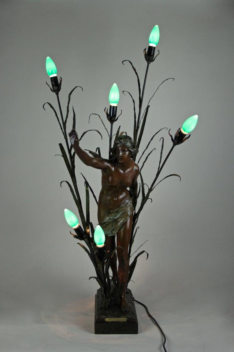 20th Century Art Nouveau Table Lamp