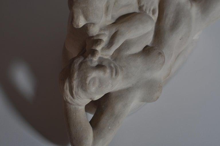 Early 20th Century Art Nouveau Terracotta Sculpture