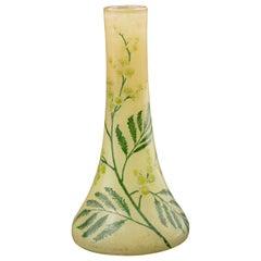 Art Nouveau Vase by Legras & Cie, France, Early 20th Century