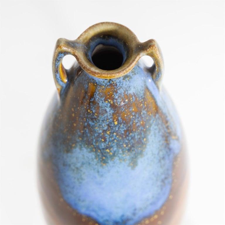 Ceramic Art Nouveau Vase, Jakob Julius Scharvogel '1854-1938', c. 1905/06 For Sale