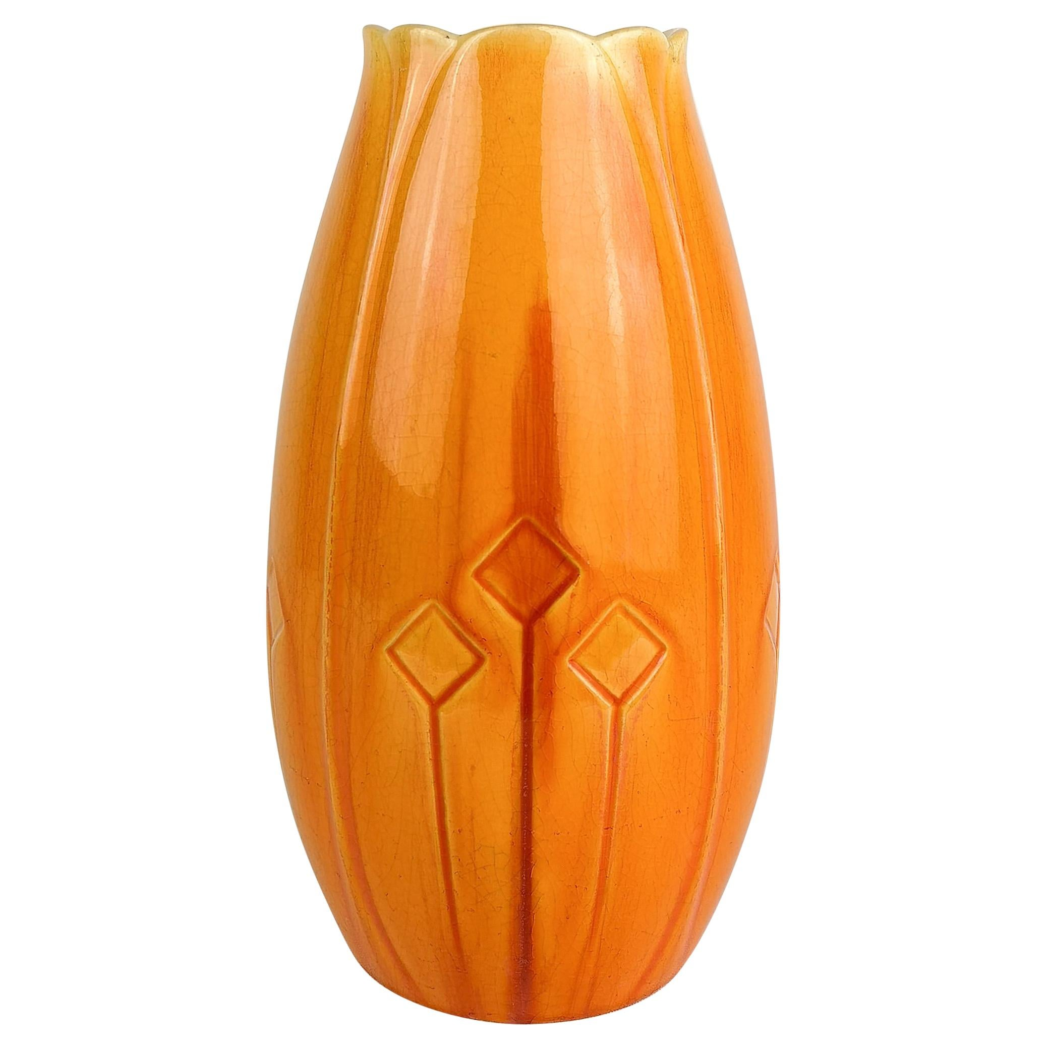 Art Nouveau Vase Rörstrand Alf Wallander