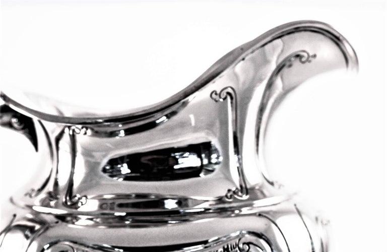 American Art Nouveau Water Pitcher For Sale