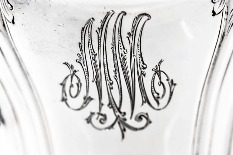 Art Nouveau Water Pitcher In Excellent Condition For Sale In Brooklyn, NY